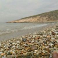 Photo taken at Tuzburnu Plajı by Eray V. on 6/1/2016