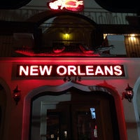 Photo taken at New Orleans Bar & Grill and Aqua Lounge by Eric C. on 11/24/2013