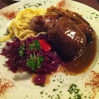 Photo taken at Waldhorn Restaurant by Eric C. on 3/4/2013