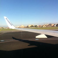 Photo taken at Ciampino volo Roma-Edimburgo by Roberta P. on 2/7/2014