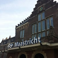 Photo taken at Maastricht Railway Station by rob o. on 8/22/2013