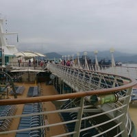 Photo taken at Check-in Royal Caribbean by Maria M. on 4/14/2014