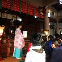 Photo taken at 富松神社 by spdspd on 1/21/2017