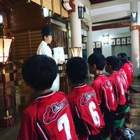 Photo taken at 富松神社 by spdspd on 8/6/2016