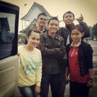Photo taken at Tol MUKTIHARJO , Semarang , Central Java by Yha R. on 1/7/2014