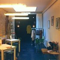 Photo taken at Koko Coffee & Design by Berthe v. on 10/25/2012