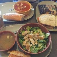 Photo taken at Panera Bread by Marina M. on 4/17/2016