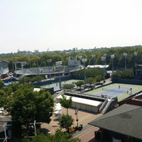 Photo taken at Court 13 - USTA Billie Jean King National Tennis Center by Earle W. on 7/31/2014