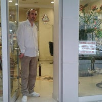 Photo taken at Hair designer COSKUN by Oguzhan D. on 4/10/2014