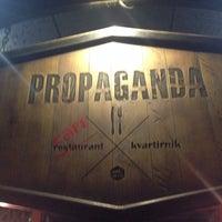Photo taken at Propaganda Café by Valeria T. on 12/13/2013