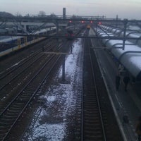 Photo taken at Station Woerden by Tamara T. on 2/11/2013