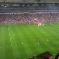Photo taken at Philips Stadium by Tamara T. on 7/19/2013