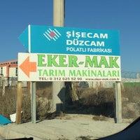 Photo taken at Trakya Polatlı Cam Sanayi A.Ş by Murat K. on 11/19/2016