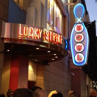 Photo taken at Lucky Strike Live by David Lorms A. on 9/27/2013