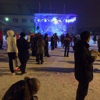 """Photo taken at Администрация МО """"Агалатовское сельское поселение"""" by Nataly L. on 1/1/2015"""