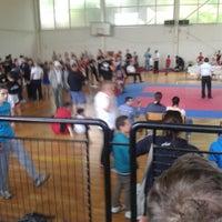 """Photo taken at Sportska sala """"Ivan Hadzi Nikolov"""" by Angela M. on 5/31/2014"""