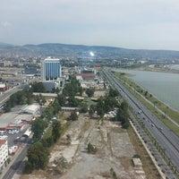 Photo taken at Panalpina World Transport İzmir Megapol Tower by Tolga P. on 5/27/2014