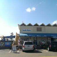 Photo taken at Olde Bay Cafe & Dunedin Fish Market by Blake C. on 10/8/2013