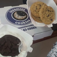 Photo taken at Insomnia Cookies by TRINA M. on 3/2/2014