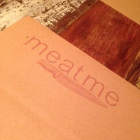 Photo taken at Meat Me by Claudia V. on 3/26/2014