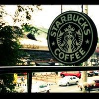 Photo taken at Starbucks Coffee by Faye on 4/21/2013