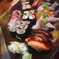 Photo taken at Sushi Sen-Nin by Jackson J. on 10/23/2013