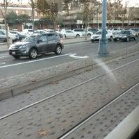 Photo taken at Brannan MUNI Metro Station by Pablo Ariel D. on 11/10/2014