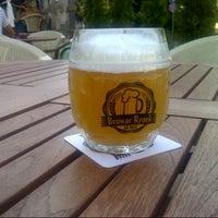 Photo taken at Browar Rynek by Grzegorz S. on 7/28/2013