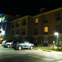 Photo taken at Holiday Inn Express & Suites Lander by Bryan B. on 5/24/2014
