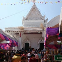 Photo taken at Wat Sanam Chai Rat Sattha Tham by Kook ^. on 2/2/2014
