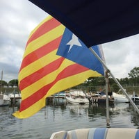 Photo taken at Club Nàutic Sant Pere Pescador by vgoller on 8/24/2014