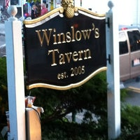 Photo taken at Winslow's Tavern by vgoller on 10/13/2012