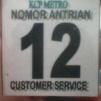 Photo taken at Bank Syariah Mandiri KCP Metro by Sarah N. on 1/24/2014