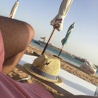 Photo taken at Terrazzina Beach by Abdulrahman M. on 3/29/2018