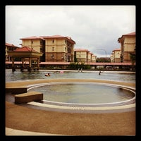 Photo taken at Upper Sanctuary Swimming Pool by wong t. on 11/3/2013