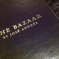 Foto tomada en The Bazaar by José Andrés por Patrick H. el 12/17/2012