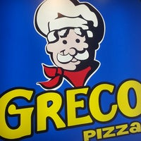 Photo taken at Greco Pizza by Ryland M. on 2/28/2014
