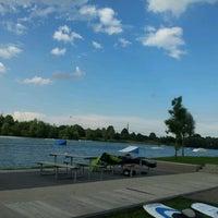 Photo taken at Wasserski-Anlage by Franziska K. on 7/7/2012