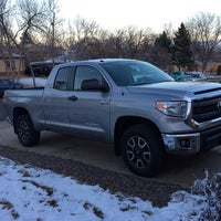 Photo taken at Mountain States Toyota by Eric H. on 3/19/2014