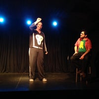 Photo taken at Teatro Club de Impro Lospleimovil by Claudio E. on 12/4/2013