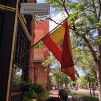 Photo taken at TAPAteria Old World & Colorado Tapas & Wines by Bryan F. on 8/15/2014