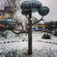Photo taken at Памятник котенку by Serge K. on 2/15/2013