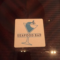 Photo taken at The Seafood Bar by David C. on 3/5/2017