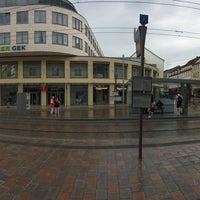 Photo taken at Marienplatz by Elena F. on 6/11/2017