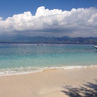 Photo taken at Gili Eco Villas by Romain G. on 5/11/2014