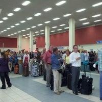 Photo taken at Zakynthos International Airport Dionysios Solomos (ZTH) by Christian V. on 9/14/2012