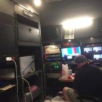 Photo taken at Martinsville Speedway TV Compound by Dave W. on 10/28/2016