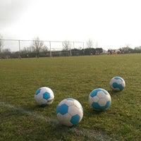 Photo taken at Voetbalvereniging DVV by Ronald v. on 2/21/2015