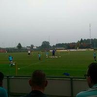 Photo taken at Voetbalvereniging DVV by Ronald v. on 9/5/2014