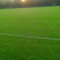 Photo taken at Voetbalvereniging DVV by Ronald v. on 9/4/2014